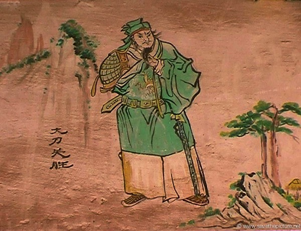 China Shaolin Dharma hall paintings 3