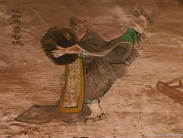 China Shaolin Dharma hall paintings 12