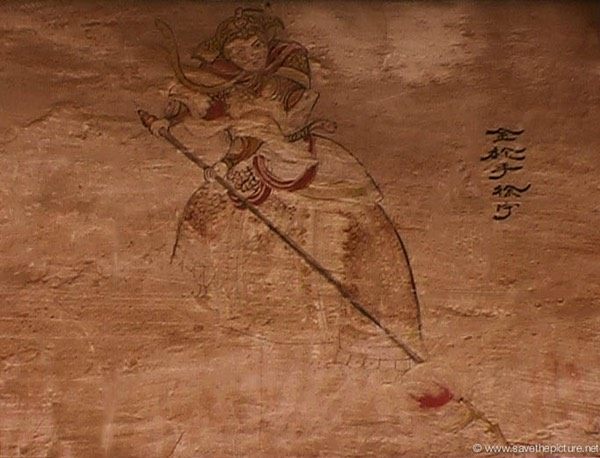 China Shaolin Dharma hall paintings 19