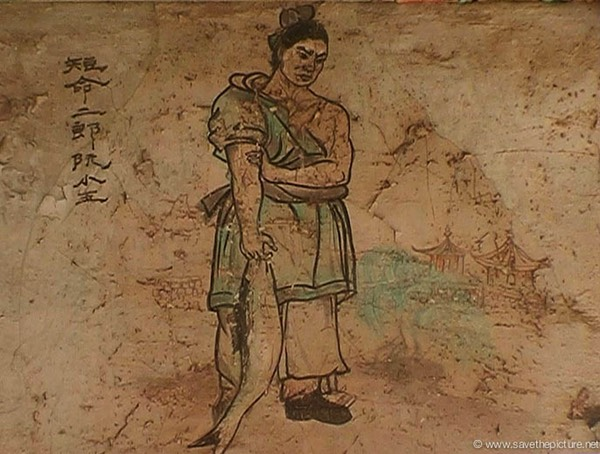 China Shaolin Dharma hall paintings 21