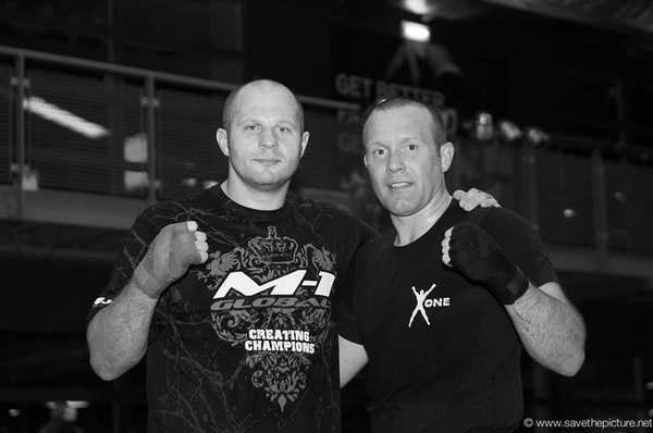 Fedor Emelianenko and Ronny Rivano