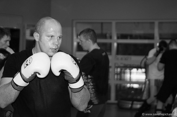 Fedor Emelianenko training camp