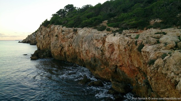 Ibiza retreats Natural Tuning cliffs