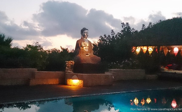 Ibiza retreats Natural Tuning night view Buddha