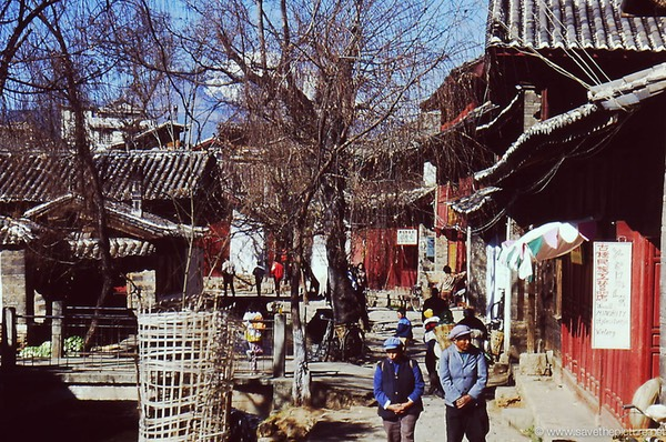 Lijiang ancient city at the silk route