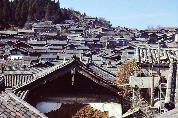 Lijiang ancient rooftops