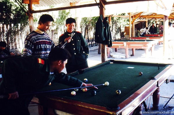 Lijiang billart players