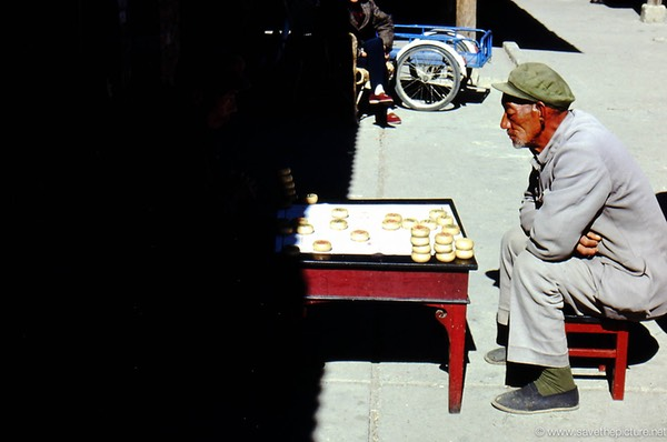 Lijiang chess players
