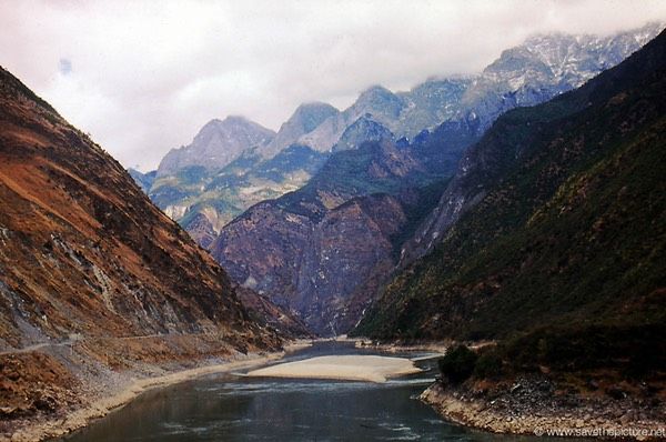 Lijiang mountain scenery
