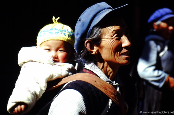 Lijiang Naxi grandmother