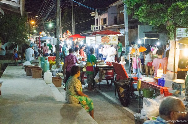Food, fun and fashion at the Samui, Lamai night market