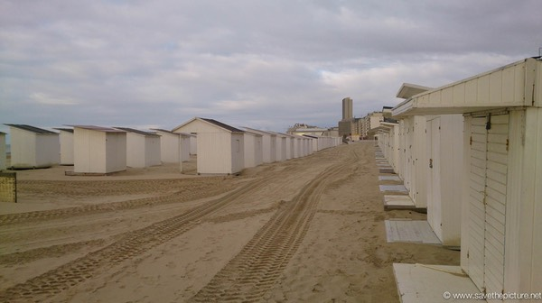 Ostend beachhuts
