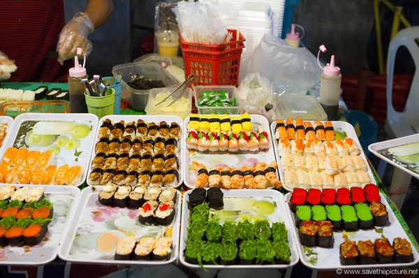 Great variety of sushi, good price good taste