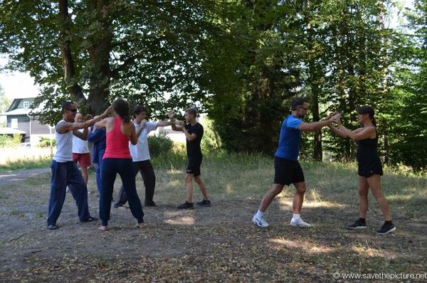 Taikiken basic attack and defense training_