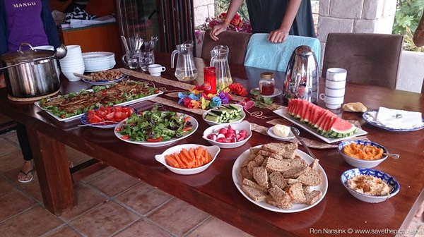 TheFeel foodies by Nadja Kotrchova, healthy vegetarian dinner at Casa Gazebo