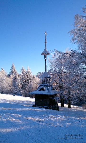 Beskid_Mountains_Pustevny_belltower, Czech Republic