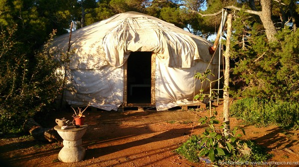 Ibiza retreats Natural Tuning and Detox Yurt