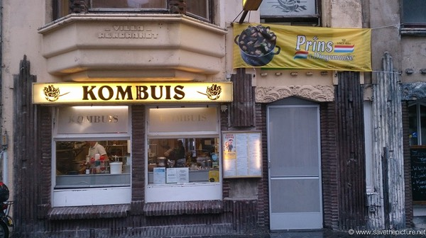 Restaurant Kombuis Ostend Belgium, the place to be for Mussel lovers