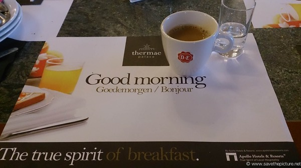 True spirit of breakfast at Thermae Palace